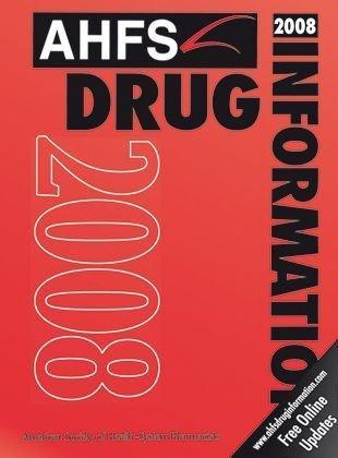Information ahfs pdf drug