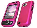 ITALKonline PINK Samsung S5600 Preston Hybrid Armour Hard Tough Shell Clip On Case Skin Cover