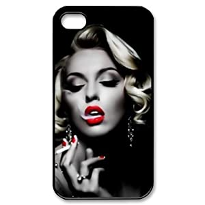 Custom marilyn monroe cover case for iphone 4 4s ip 26782 amazon co