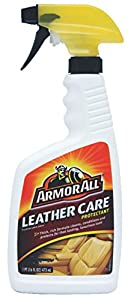 Armor All 78175 Leather Care Protectant and Microfiber Cloths Bundle