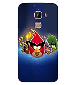 ColourCraft Amazing Birds Design Back Case Cover for LeEco Le 2 Pro