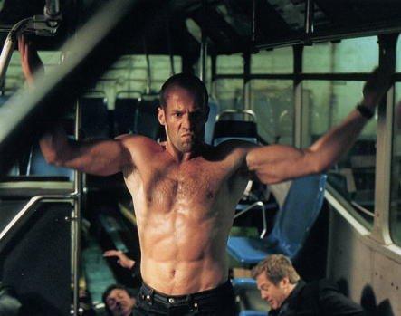 ジェイソンステイサムの腕の筋肉がかっこよすぎる