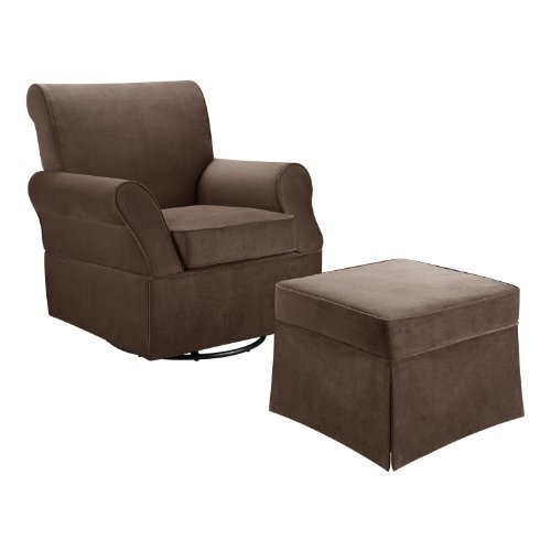 Baby Glider And Ottoman front-113853