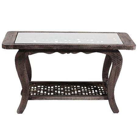Benzara ETD-EN50154 Sleek and Elegant Wooden Coffee Table