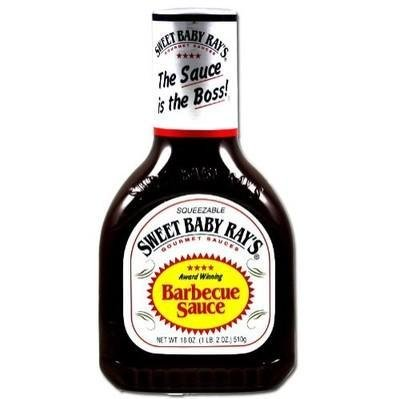 Sweet Baby Ray'S BBQ Barbeque Sauce Original Squeezable 28 Oz