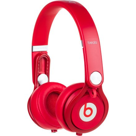 Beats Audio Beats MIXR DJ Style Headphones - Red
