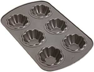 Wilton Nonstick 6-Cavity Ice Cream Cookie Bowl