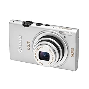 "camaras de fotos baratas Canon IXUS 125 HS - Cámara compacta de 16.1 Mp (pantalla de 3.0"", zoom óptico 5x, estabilizador de imagen ) color plateado"
