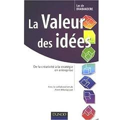 La valeur des idées : cover