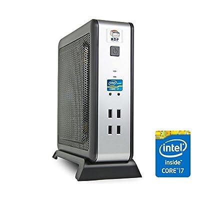 RDP Mini PC | XL-900 - Mini Desktop Computer (Intel Core i7 Processor 3.90GHz / 4GB DDR3 RAM / 500 GB HDD) - Size...