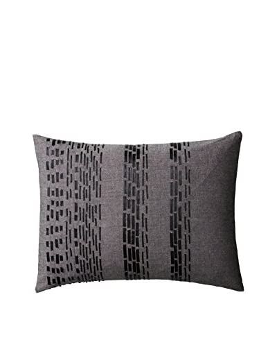 Vera Wang Pom Poms Decorative Pillow, Grey