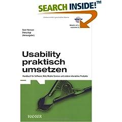 Bild zum Buch Usability praktisch umsetzen