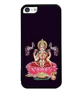 ifasho Designer Phone Back Case Cover Apple iPhone 5c ( Pink Pattern Flowers Seasonal )