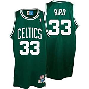 Larry Bird Boston Celtics Adidas Green Swingman Jersey - Size 52 - XL