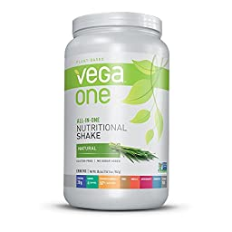 Vega One All in One Nutritional Shake Tub, Natural, Large, 30.4 Ounce
