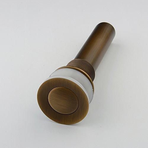 hiendurertappo-scarico-lavello-lavabo-click-clack-a-pressione-senza-troppopieno-colore-ottone-antica
