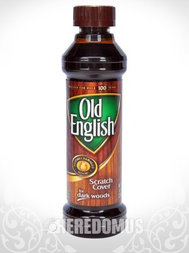 Old English Scratch Cover for Dark Wood - 8 oz