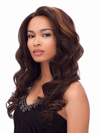 Sensationnel Synthetic Hair Empress Lace Front Wig - Giselle Color 1