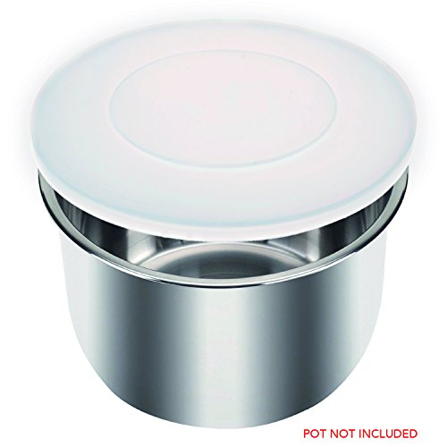 Instant Pot Silicone Lid / Cover (BPA-free) - Fits IP-DUO60, IP-LUX60, IP-DUO50, IP-LUX50, Smart-60, IP-CSG60 and IP-CSG50