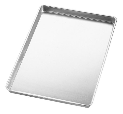 Wilton Jelly Roll and Cookie Pans, 10 1/2 x 15 1/2 x 1 Inches Deep (1 2 Jelly Roll Pan compare prices)