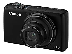 Canon PowerShot S90 Digital Camera (10 Megapixel, 3.8 Optical Zoom) 3.0  inch LCD
