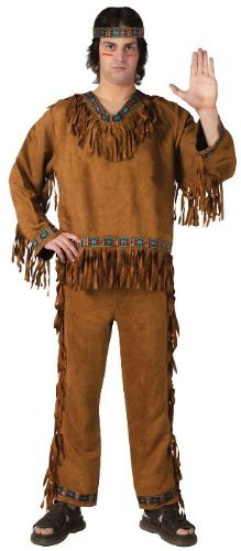 Costumes For All Occasions Fw131025 American Indian Man Plus