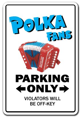 Polka Fan ~Sign~ Music Dance Sing Song Concert Cd Gift