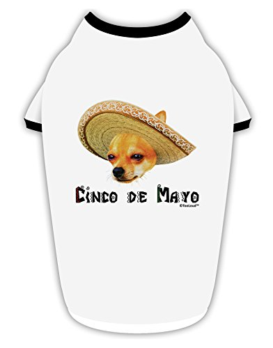 TooLoud-Chihuahua-Dog-with-Sombrero-Cinco-de-Mayo-Stylish-Cotton-Dog-Shirt