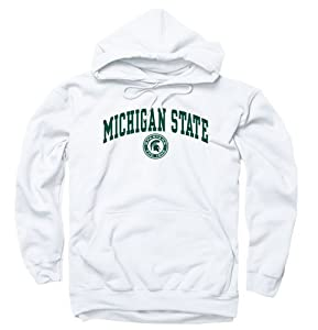 Michigan State Spartans Adult Arch and Ring Hoody by Unknown
