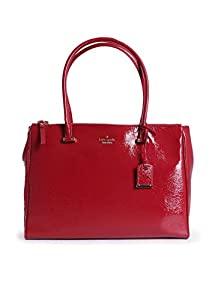 kate spade new york Cedar Street Patent Reena Shoulder Bag,Dynasty Red,One Size