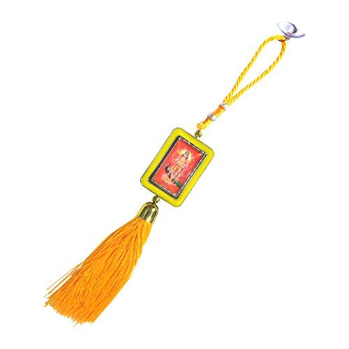 dcs-beautiful-color-car-hanging-of-maa-lakshmi-size-30cm-yellow