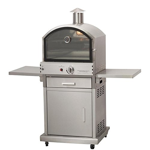Heavy Duty Milano Gas Pizza BBQ Oven Commercial Kitchen Outdoor Catering Event