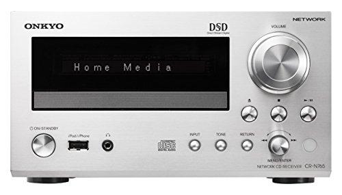 ONKYO ネットワークCDレシーバー ハイレゾ音源対応 シルバー CR-N765(S)