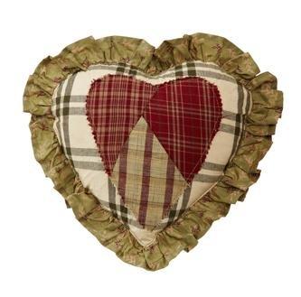 """Heartland 10X10"""" Heart Shaped Pillow front-463543"""