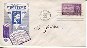 Tony Kushner Pulitzer Priz Playwright Author Signed Autograph FDC - Memorabilia