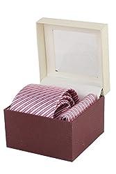 Ellis Micro Fibre Men Tie And Pocket Square Gift Set