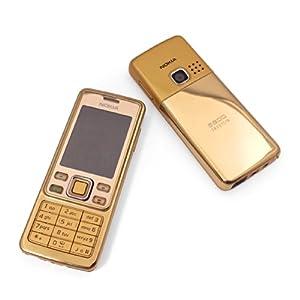 Reconditioned Refurbished Nokia 6300 SIM-Free Unlocked All Networks Mobile Phone and Battery - Gold Handset - Works on Vodafone Tmobile Orange O2 GiffGaff EE Virgin Tesco Asda Sainsburys Mobile TalkMobile