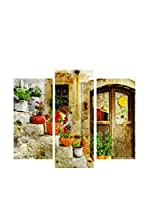 My Art Gallery Set Panel Decorativo 3 Uds. Multicolore