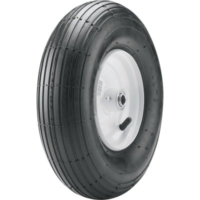 Marathon Tires Wheelbarrow Assembly, 5/8in. Bore 