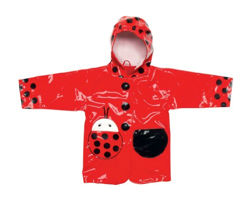 KIDORABLE 0643762309037 Kidorable Ladybug Raincoat