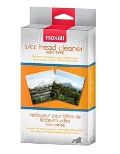 Maxell VP-200 VHS Wet Cleaner