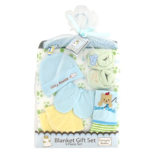 Snugly Baby 9-Piece Blanket Gift Set