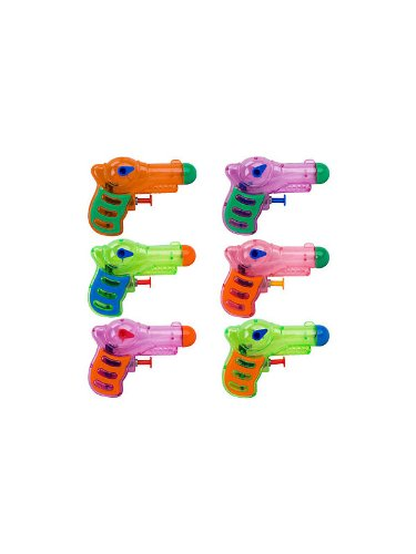 Bestselling Toy Brands On Amazon Com: Neon Grip Squirt Guns – 12 Per Unit