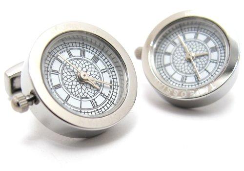 タテオシアン(TATEOSSIAN) ビッグベン時計カフス(カフスボタン/カフリンクス)