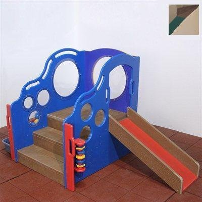 Strictly For Kids Skpg441N Premier Infant-Toddler Cozy Climber, Natural Colors, For Outdoors Or Indoors