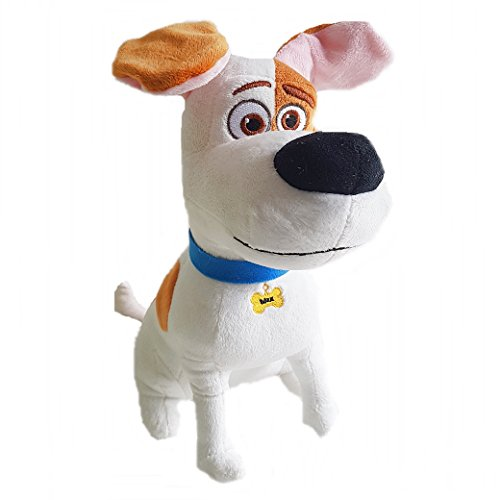 pets-the-secret-life-of-pets-max-weisser-hund-mit-braunen-flecken-33cm-qualitat-super-soft