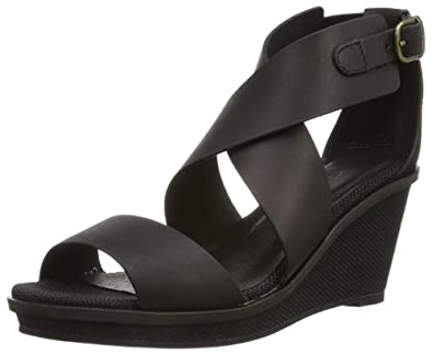 Emu Australia Womens Whitsunday Fashion Sandals W10796 Black 5 UK, 38 EU, 7 US, Regular