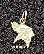 Minnesota Vikings Logo 3/8&quot; Charm/Pendant
