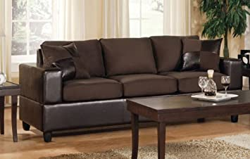 Chocolate Bycast Sofa