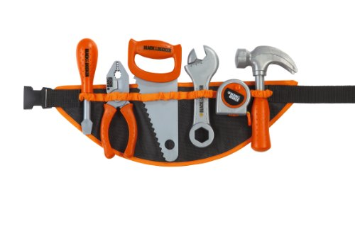 Smoby 500193 Imitation Black & Decker Tool Belt